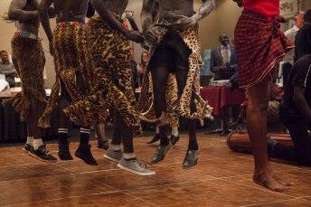 Leopard skin takeoff